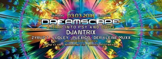 Dreamscape March 2018 3 Mar '18, 23:00