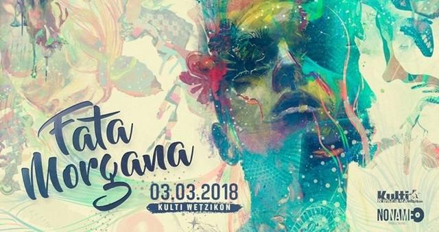 Party Flyer Fata Morgana Vol. 4 3 Mar '18, 21:00