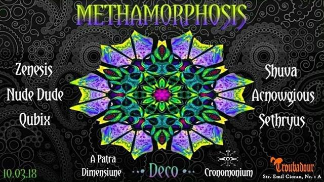 Party Flyer MethaMorphosis 10 Mar '18, 22:00