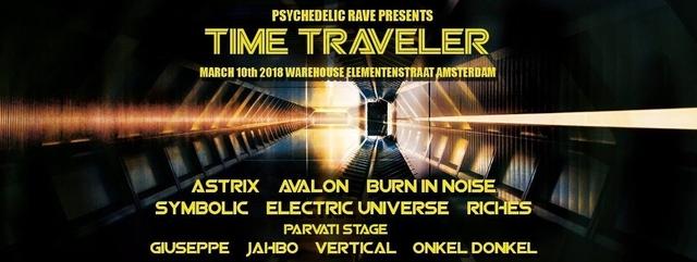 Party Flyer Time Traveler 10 Mar '18, 23:00
