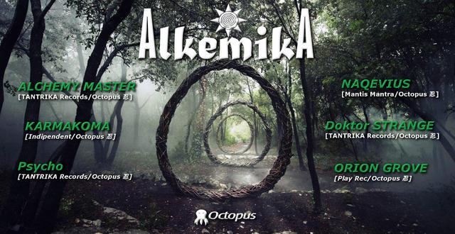 Party Flyer AlkemikA ۞ Open Air 24 Apr '18, 18:00