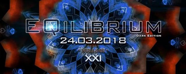 Party Flyer ๑ EQilibrium GOA (Dark Edition) ๑ 24 Mar '18, 22:00