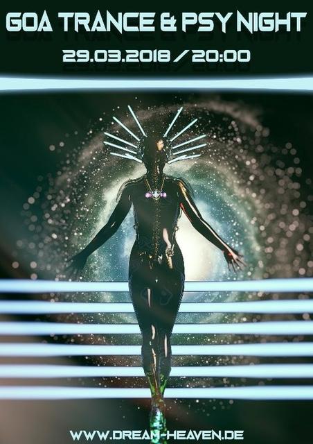 Die schwarzlicht Orgie ~ Goa, Trance & Psy 29 Mar '18, 20:00
