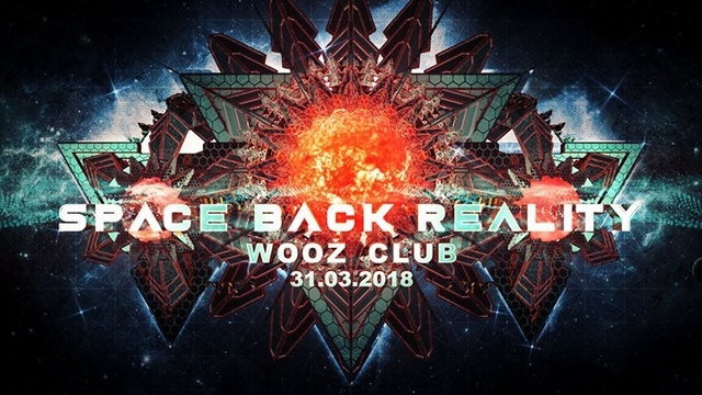 Party Flyer Space Back Reality 31 Mar '18, 22:00