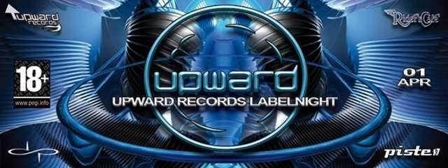Party Flyer ॐ°•upward Records Labelnight•°ॐ Larix•yeyo•infuso• Uvm. 1 Apr '18, 22:00