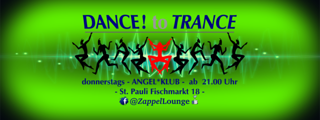 Party Flyer DANCE to TRANCE 5 Apr '18, 21:00