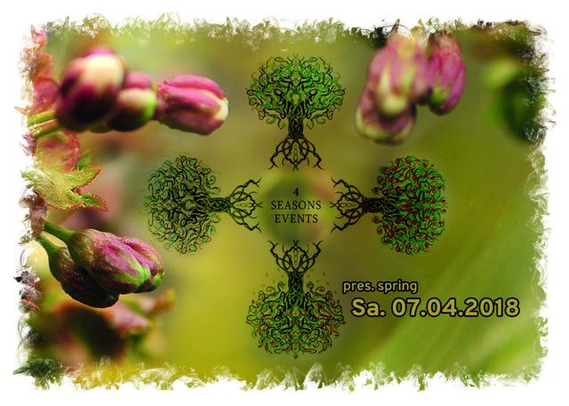 Party Flyer 4SEASONS EVENTS pres. SPRING 7 Apr '18, 22:00