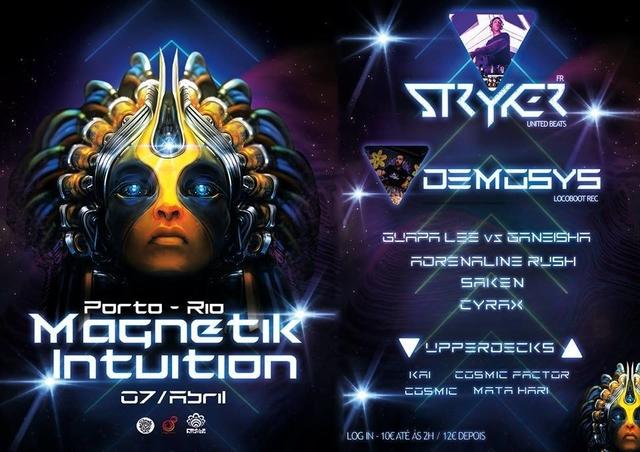 Party Flyer Magnetik Intuition 7 Apr '18, 23:30