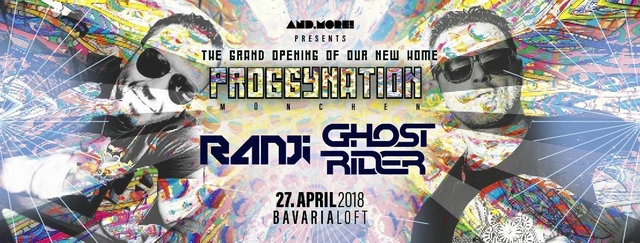 Proggynation München pres. Ghost Rider & Ranji [BlueTunes Rec.] 27 Apr '18, 22:00