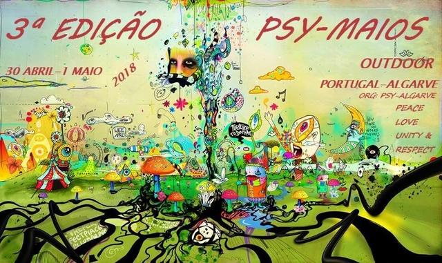 Party Flyer 3º Ediçao Psy-Maios 2018 30 Apr '18, 22:30