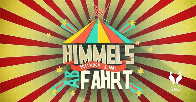 Party Flyer Himmels abFAHRT! w/Faders, Kopel uvm. 9 May '18, 23:00