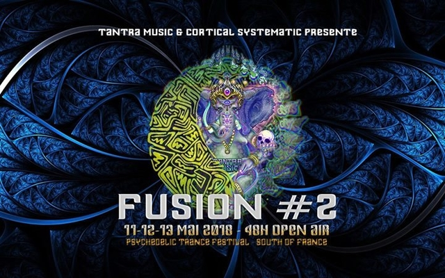 Party Flyer Fusion #2 - 48H Open Air 11 May '18, 21:00