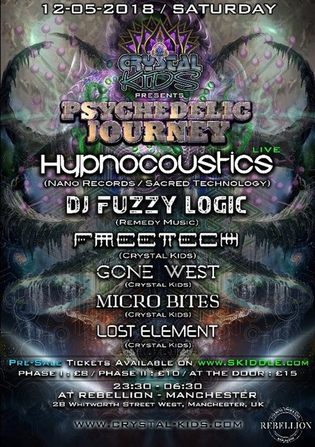 Psychedelic Journey 12 May '18, 23:30