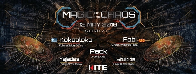 Magic Of The Chaos Free Mind Event 12 May '18, 22:00