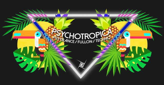 Psychotropica Prog/Psytrance & Techno 5€ bis 0 12 May '18, 22:00