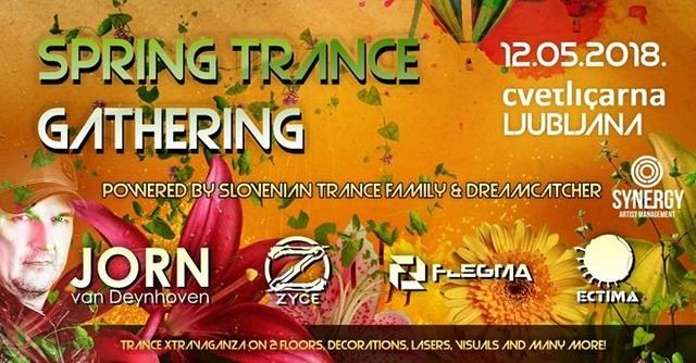 Spring Trance Gathering /// Jorn van Deynhoven / Zyce / Flegma 12 May '18, 23:00