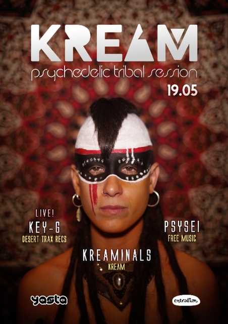 Party Flyer KREAM 19.05 19 May '18, 23:30