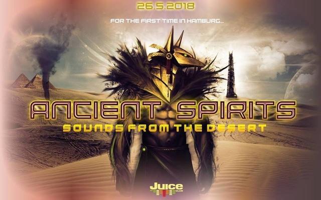 Party Flyer Ancient Spirits - w/ Hecate, Earthwave, Bazooka, RaaMoon uvm. 26 May '18, 23:00