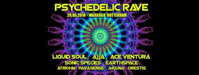 Party Flyer Psychedelic Rave 26 May '18, 23:00