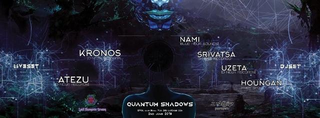 Party Flyer QuAnTuM•ShAdOwS • D-Noir Label Party • LIVE SETS Special Guests ROME 2 Jun '18, 23:30