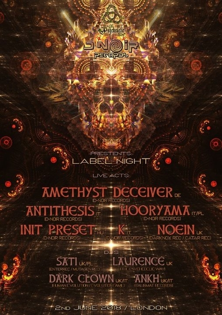 The Psychedelic Way & D.Noir rec forest gathering 2 Jun '18, 22:00