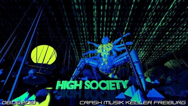 Party Flyer HIGH SOCIETY 8 Jun '18, 23:00