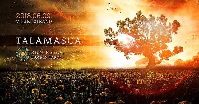 Party Flyer SUN Festival promo party / Talamasca 9 Jun '18, 22:00