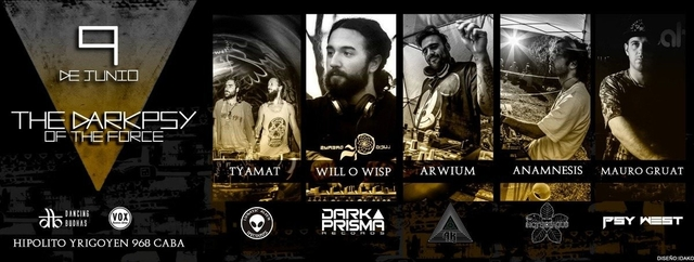Party Flyer The Darkpsy of The Force 9 Jun '18, 23:00