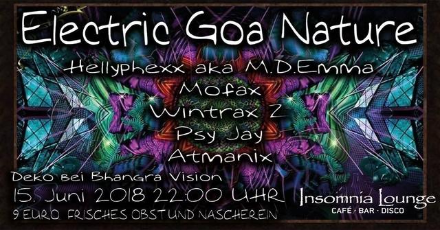 Party Flyer Electric Goa Nature 15 Jun '18, 22:00