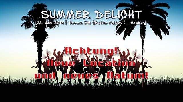 Party Flyer Atisha: Summer Delight (TranceDance Special) 22 Jun '18, 22:00
