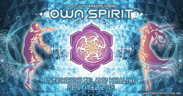Party Flyer Own Spirit Festival 2018 12 Jul '18, 12:00