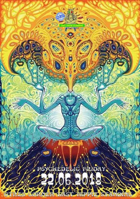 Psychedelic Friday 22 Jun '18, 22:00