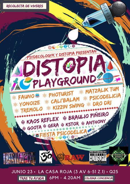 Distopia Playground #1 23 Jun '18, 18:00