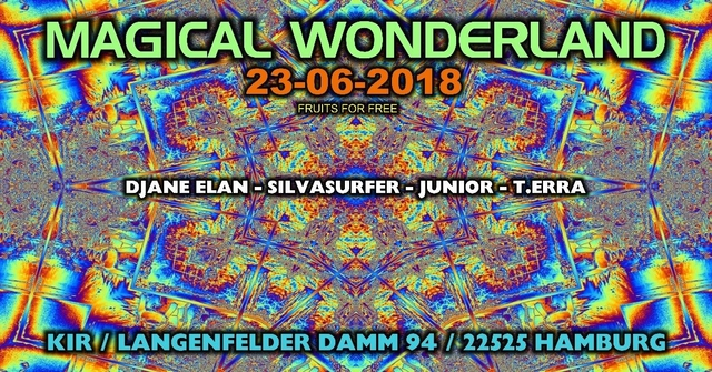 Party Flyer ॐ Magical Wonderland ॐ 23 Jun '18, 22:00