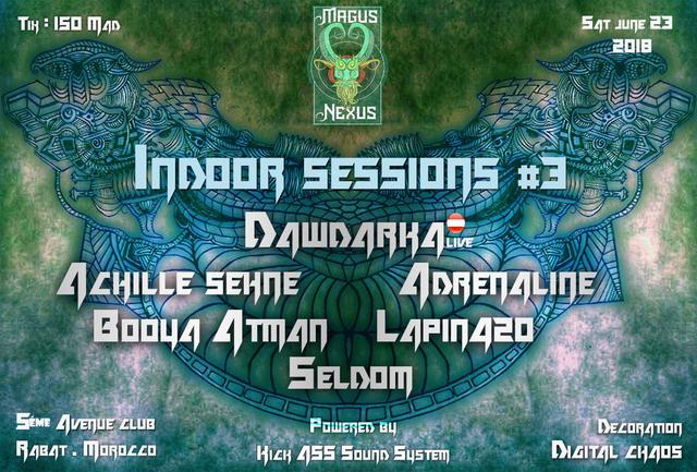 Party Flyer Magus Nexus: Indoor Sessions #3 23 Jun '18, 22:00