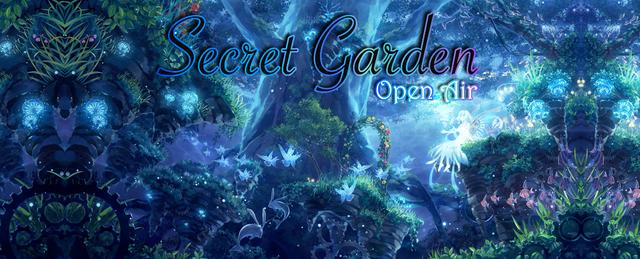 Party Flyer ๑ Secret Garden (Open Air) ๑ 30 Jun '18, 22:00