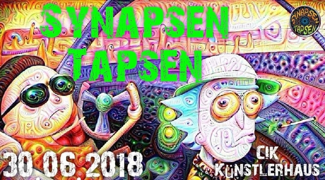 Party Flyer Synapsen Tapsen 30 Jun '18, 22:00