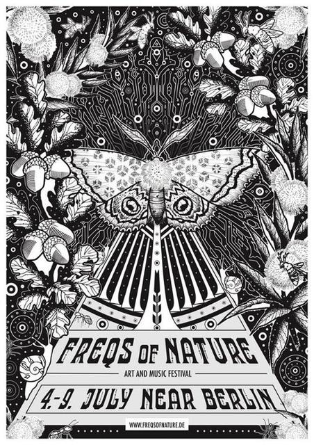Party Flyer Freqs Of Nature Festival 2018 • Peculiar Art & Music Festival 4 Jul '18, 12:00
