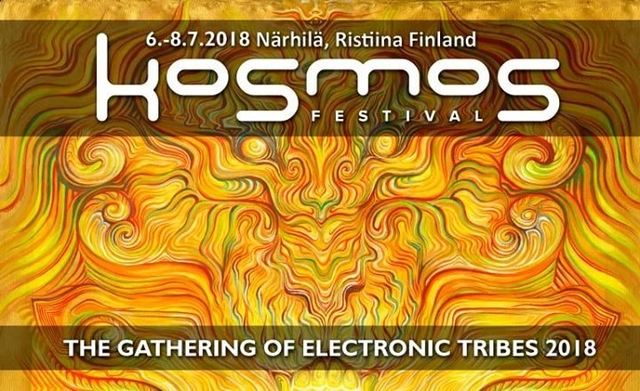 Party Flyer Kosmos Festival 2018 6 Jul '18, 17:00