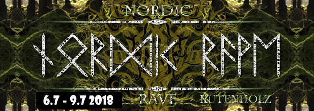 Party Flyer Nordic Rave 6 Jul '18, 14:00