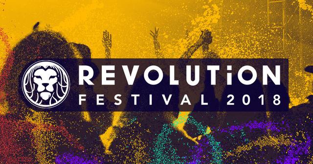 Party Flyer Revolution Festival 2018 6 Jul '18, 12:00