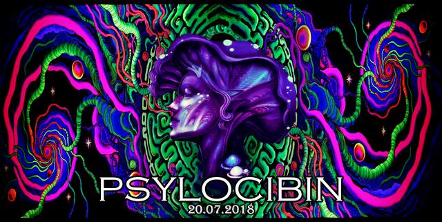 Party Flyer Psylocibin 20 Jul '18, 18:00