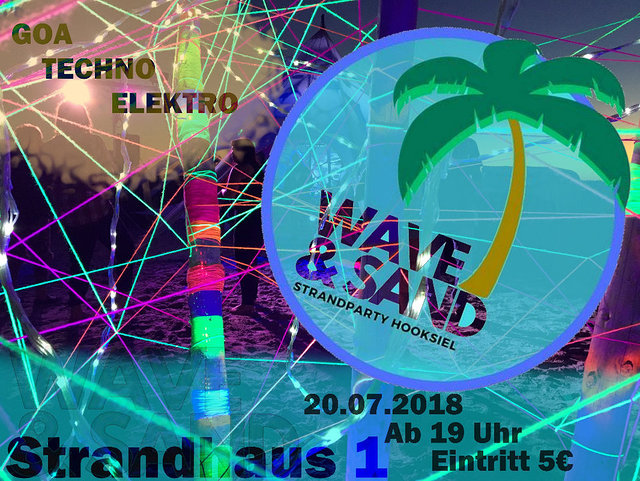 WAVE & SAND the 4th 20 Jul '18, 19:00
