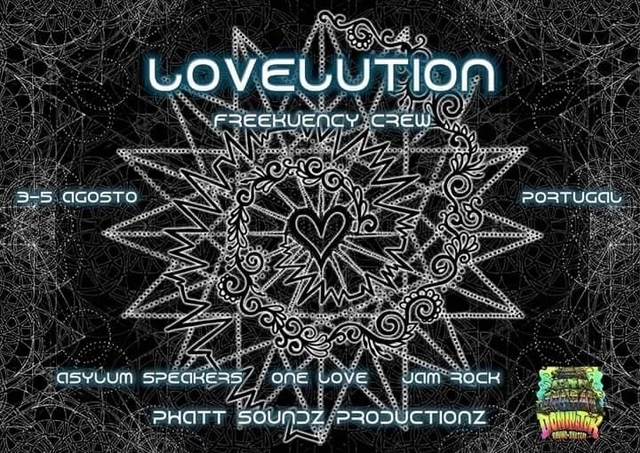 Party Flyer LOVELUTION 3 Aug '18, 19:00