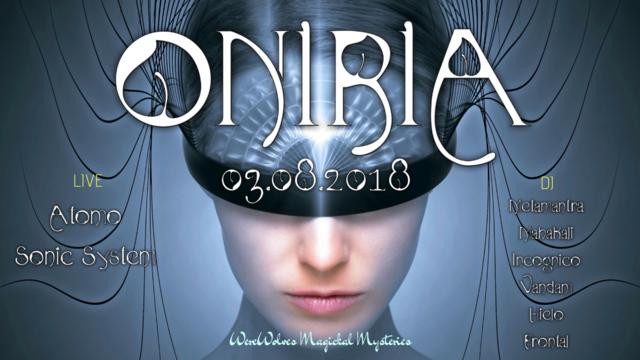 Party Flyer ∙∙∙∙∙·ᵒᴼᵒ Oniria ᵒᴼᵒ·∙∙∙∙∙ 3 Aug '18, 21:00