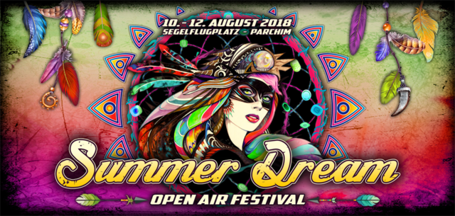 Party Flyer Summer Dream Open Air Festival 2018 10 Aug '18, 18:00