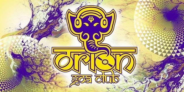 Party Flyer Orion Goa Club 14 Aug '18, 23:00