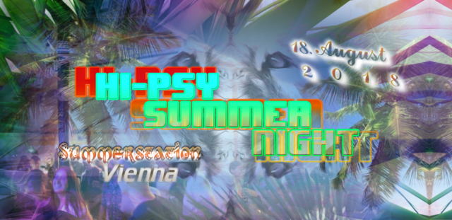 Party Flyer Hi-Psy Summer - Freeparty 18 Aug '18, 14:00