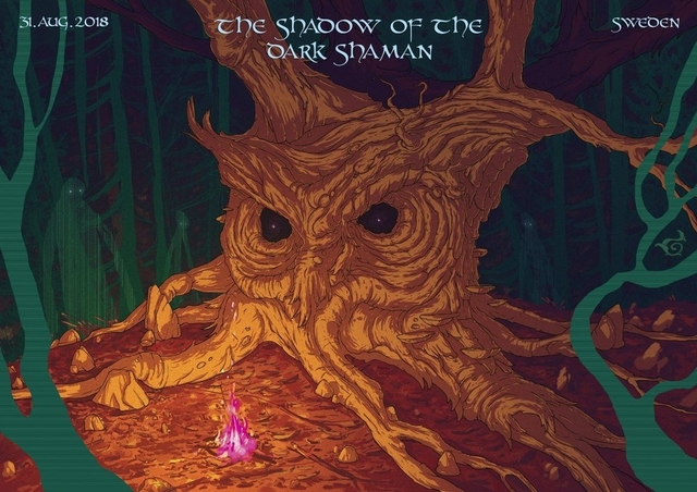 Party Flyer The Shadow Of The Dark Shaman By MindGamers 31 Aug '18, 20:00
