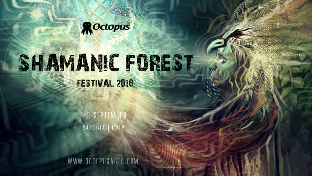 Party Flyer Shamanic Forest ۞ Festival 2018 1 Sep '18, 16:00
